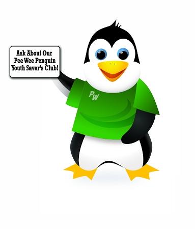 Pee Wee Penguin Cutout